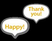 happy!thankyou!