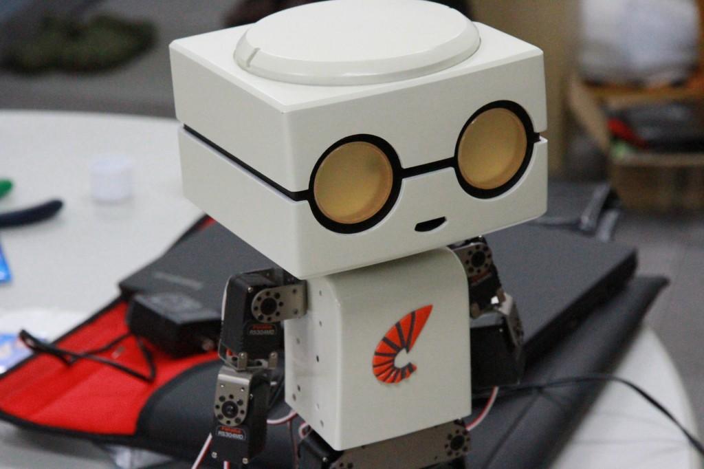 3Dプリンター製ロボット